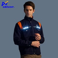 Hi Vis Long Sleeve LED Flashing