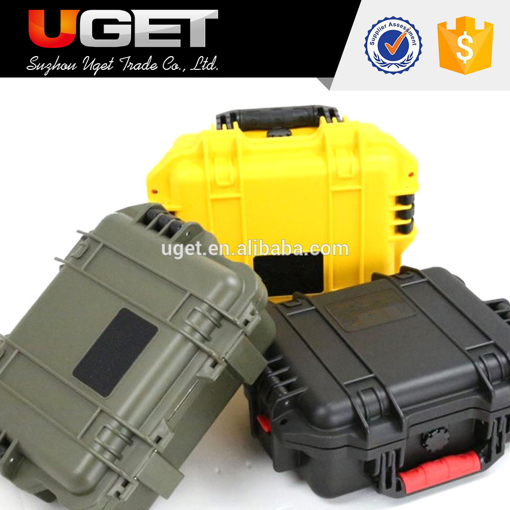 China manufacturer waterproof plastic trolley tool case manufactured in China