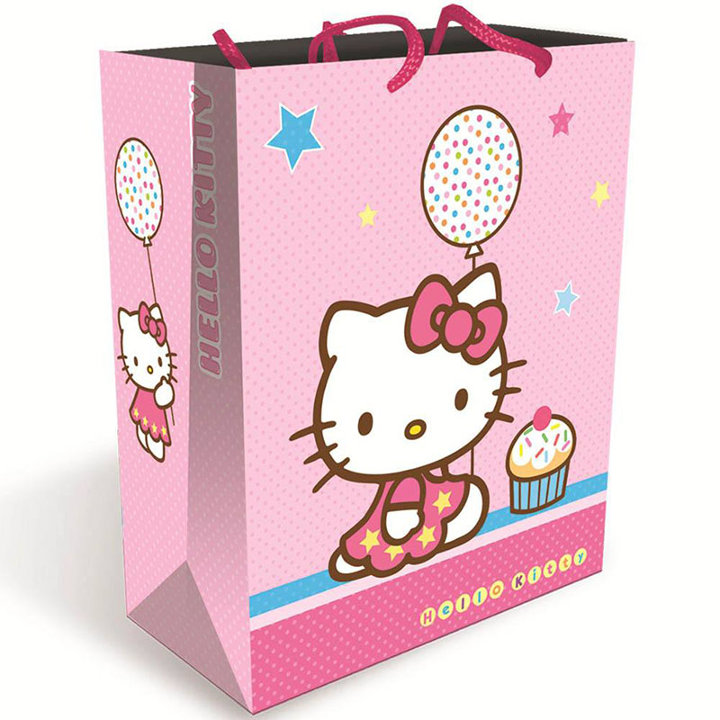 TOP QUALITY BEST SELLING!! gift packaging paper bag hello kitty paper bag
