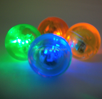 Promotional bounce ball and led bounce ball/flummi and flashing/glow bounce ball