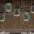 CE RoHs proved magic 3d glass chandelier