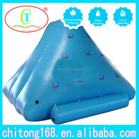 Top Quality Durable Inflatable Floating Slide, Water Iceberg slide, Climbing Toys