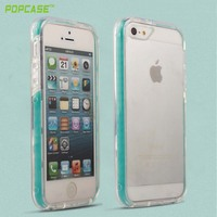 High quality factory price PC+TPU+silicone mobile case for Iphone5