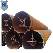 best selling 73mm LSAW seamless steel pipe tube gals Q235