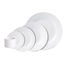 Simple And Classic Solid Color White Ceramic Dinnerware