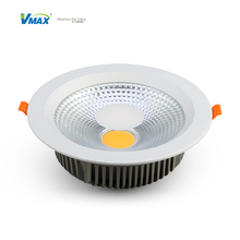 high effective 30w round recessed cob led downlight&Anti-glare Led Downlight