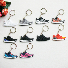 >>>Promotion Gift Woman Men Bag Charm Accessories Key Rings Pendant Silicone Jordan Shoes PVC 3D Keychain Sneaker Keychain