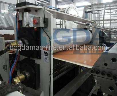 PVC Glazed Roof plastic wave roof sheet machine with CE certificate