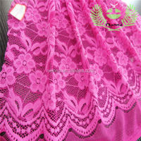 China supplier latest fancy nylon sex nylon lace fabric for women fashion dress