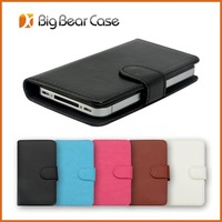 Hot phone leather case for samsung galaxy young s6310