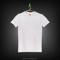 white 100% cotton plain cotton tshirts bulk t-shirt wholasale