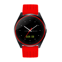 wholesale 2017 New V9 Smart Watch Clock With Sim TF Card Slot Bluetooth suitable for Apple iPhone Android Phone Smartwatch wrist