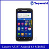 Hot Original Lenovo Smart Phone RAM 512MB ROM 4GB Android 4.4 MTK6582 Quad Core 1.3GHz Lenovo A338T Phones