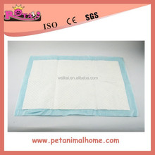 Pee absorption puppy pads