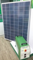 600W Portable solar generator with Maintenance-free lead-acid gel battery