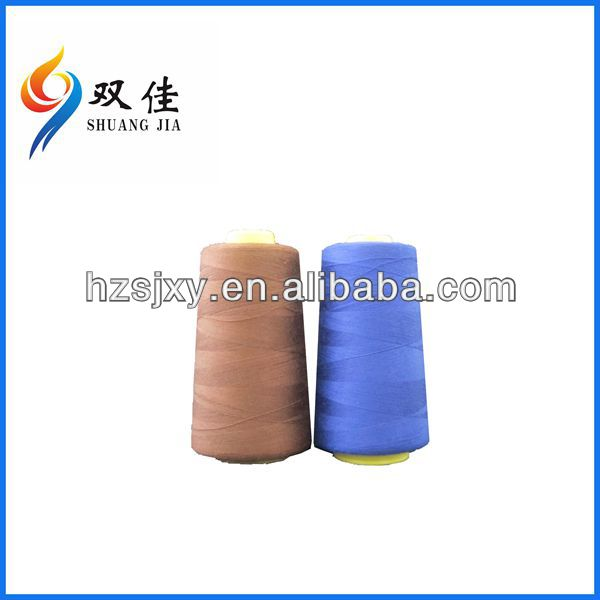 low shrinkage shiny 210d/2 100% polyester embroidery thread