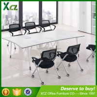 high quality wooden office furniture new design pvc conference table/Meeting Table for Meeting Hall