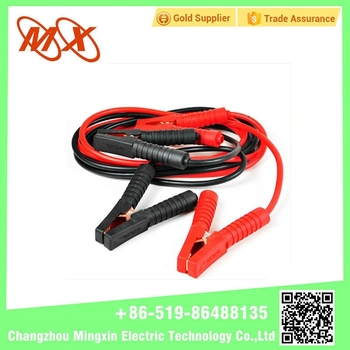 Unique Style Big Battery Alligator Clips with L/N For Car Emergency with Plastic Jacket