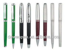 high quality dewen promotional metal ball pens,pen rec