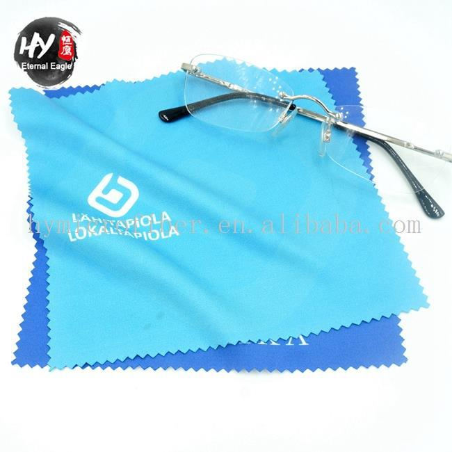Hot selling microfiber mini portable eyeglass cleaner wipe,custom cleaning cloth,hot stamp microfiber glasses cleaning cloth
