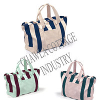 Stripr Canvas Tote Bags