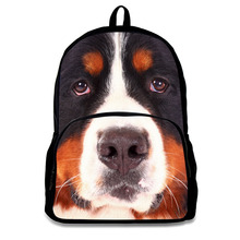 12 Inch Kids Animal Picture of School Bags Backpacks
