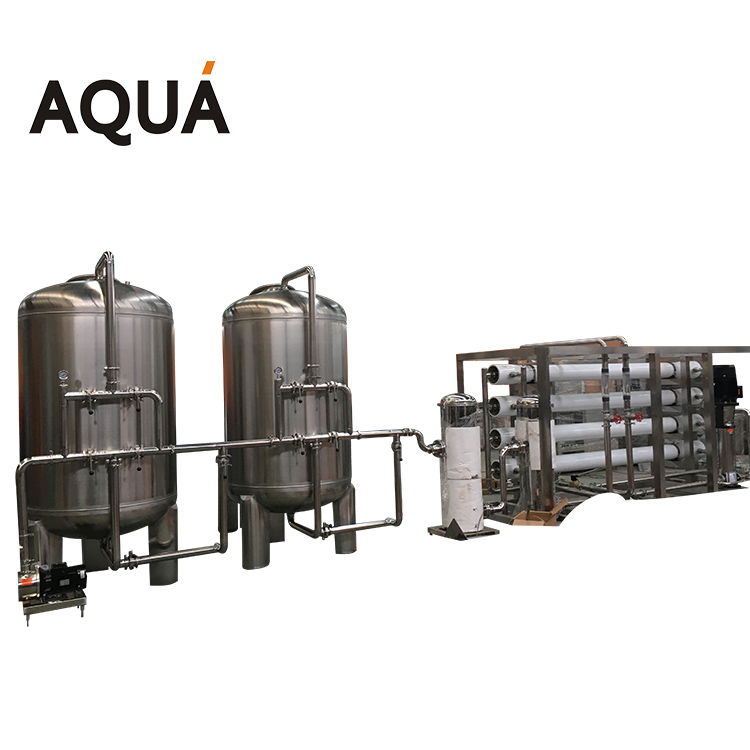 Industrial Ro commercial water purification <strong>system</strong> / water treatment filter plant