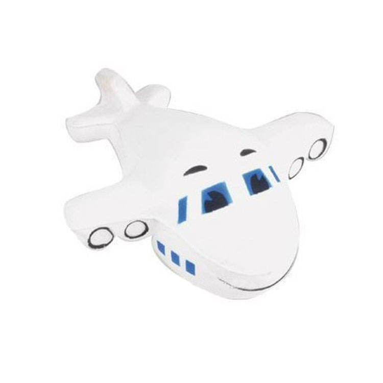 Promotional Airplane stress ball
