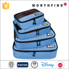 Travel Durable Polyester Blue Lightweight Luggage