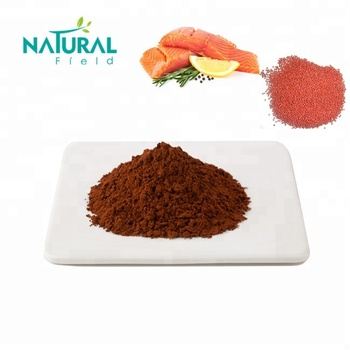 Astaxanthin Supplement Haematococcus Pluvialis Extract Organic Astaxanthin Feed Grade Powder