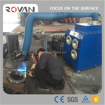 Mini Industrial Workshop Welding Fume Extractor, Welding Dust Collector