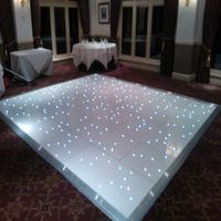 promotional RGB colorful led starlit dance floor