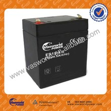 Security storage battery 12v4.5ah Solar deep cycle battery rechargable lead acid battery price