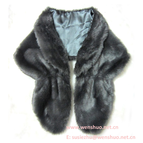 2014 Winter Women Faux Fur Shawls Wholesale