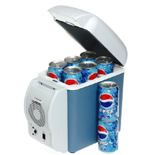 High quality fashional portable 7.5 liters mini car fridge for tour
