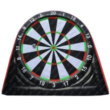 5m Inflatable Football Dart Board Game Shooting Sport