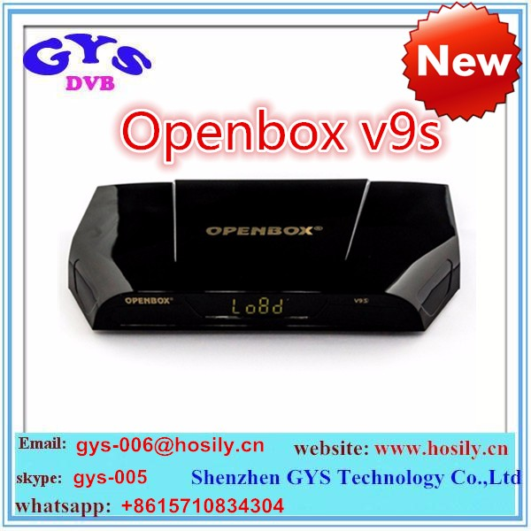 Genuine openbox v9s hd digital receiver set top box with wifi build-in better than openbox v8s