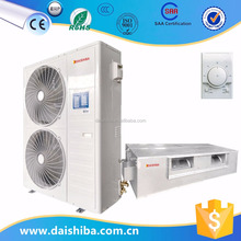 The most popular high quality split ducted type indoor / outdoor unit air conditioning with indoor unit