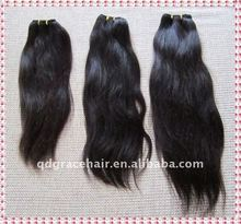 Natural malaysia human hair extensions care products