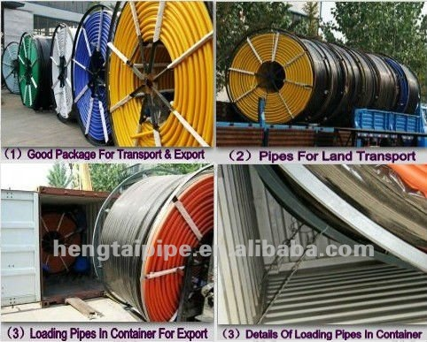 HDPE duct pipe for fiber optic cable