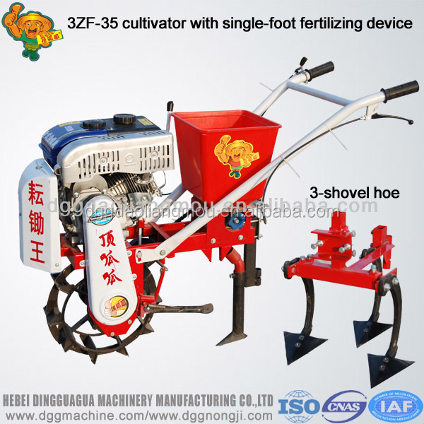 Agricultural tools 3ZF Series hand push garden tiller and cultivator in hot sale