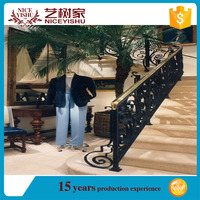 Grab Support HAND RAIL WROUGHT IRON HANDRAILING WALL MOUNT/metal stairs railing for sale