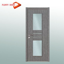 MDF core door maple interior exterior pvc flat doors for small spaces