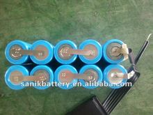 Ni-MH rechargeable battery pack A/AA/AAA/SC/C/F