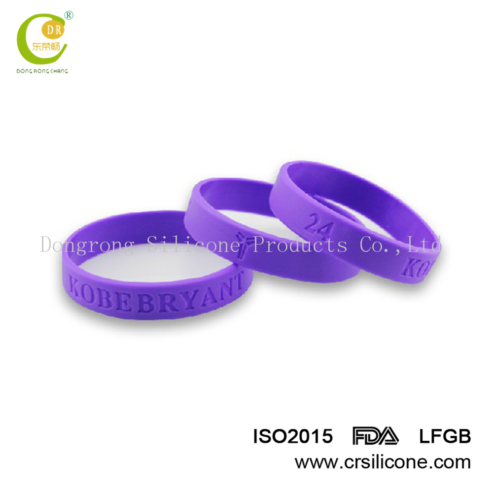 Multi peace symbol charm dangle rubber cord bracelet,Debossed Silicone Wristband for Promotional