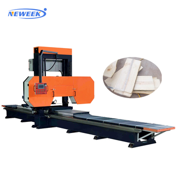 NEWEEK maximum 160cm diameter horizontal wood band saw machine