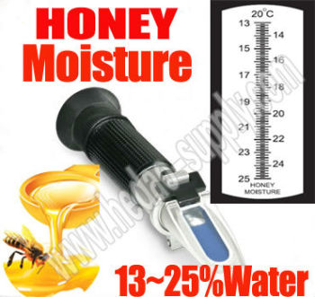 RHF-25ATC honey refractometer for honey moisture