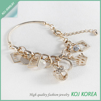 American style charm bracelets made in korea