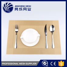 Chinese custom plastic gold placemats for restaurants home