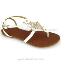 RMC fashion diamond flat ankle old brand lady shoes